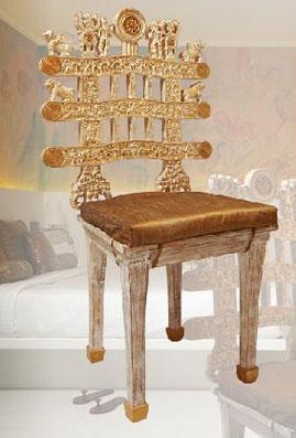 stupa chair