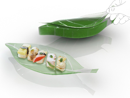 bioplastic vessel