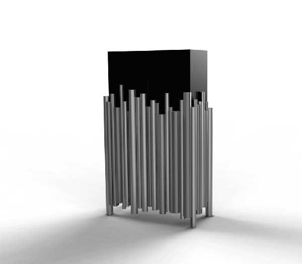 organ cabinet by mattia bonetti