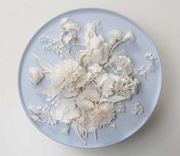 klimenkoff porcelain flowers