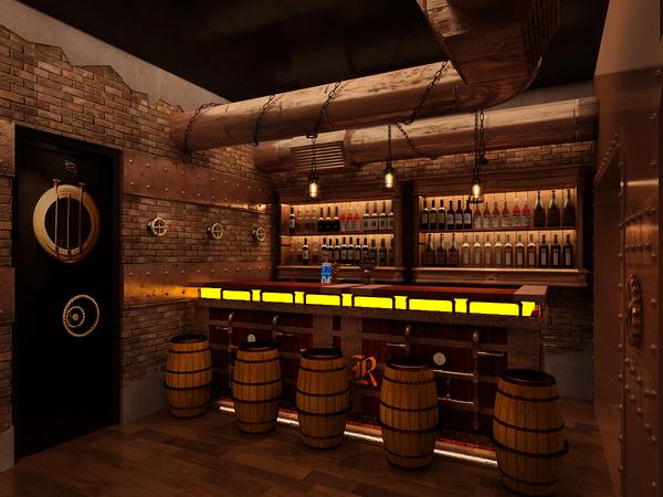 Amazing Steampunk Restaurant Designflute
